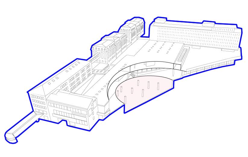 Projet Labor-Lausanne, plan du site de la Rasude, Bivouac 2020